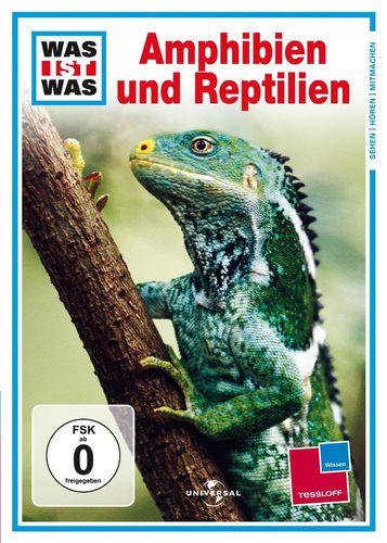 DVD Was ist Was - Amphibien und Reptilien  TV-Serie  OVP & NEU
