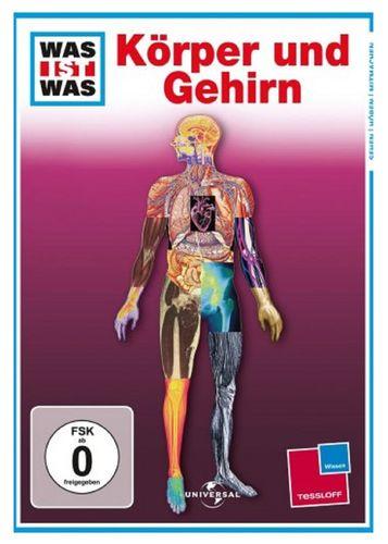 DVD Was ist Was - Körper und Gehirn  TV-Serie  OVP & NEU
