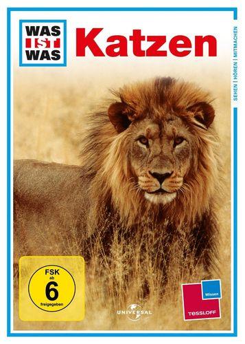 DVD Was ist Was - Katzen  TV-Serie  OVP & NEU