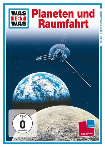 DVD Was ist Was - Planeten und Raumfahrt  TV-Serie  OVP & NEU