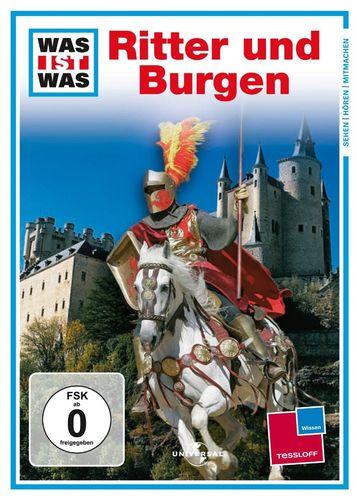 DVD Was ist Was - Ritter und Burgen  TV-Serie  OVP & NEU