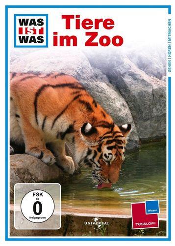 DVD Was ist Was - Tiere im Zoo  TV-Serie  OVP & NEU