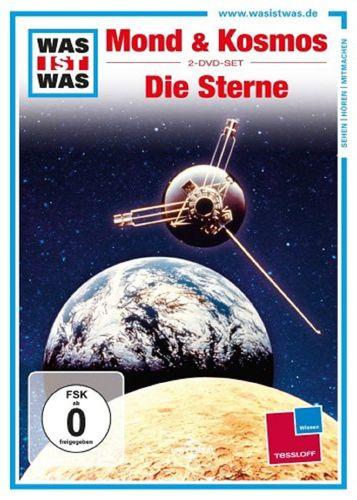 DVD Was ist Was - 2er Box Mond und Kosmos + Die Sterne TV-Serie 2 Folgen OVP NEU