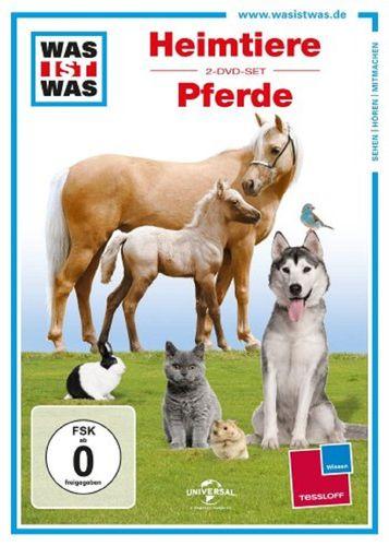 DVD Was ist Was - 2er Box Heimtiere + Pferde  TV-Serie mit 2 Folgen  OVP & NEU