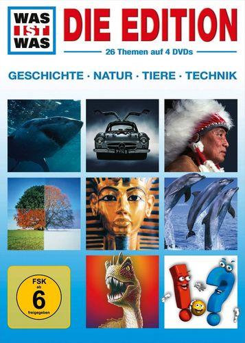DVD Was ist Was - 4er Box Die Edition  TV-Serie 26 Folgen OVP & NEU