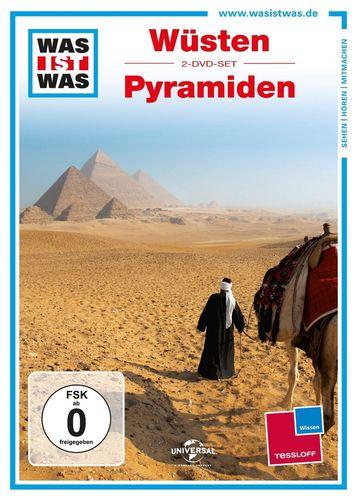 DVD Was ist Was - 2er Box Wüsten + Pyramiden TV-Serie 2 Folgen OVP & NEU
