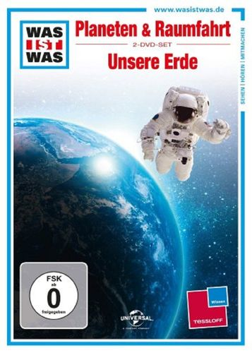 DVD Was ist Was - 2er Box Planeten und Raumfahrt + Unsere Erde TV-Serie OVP & NEU