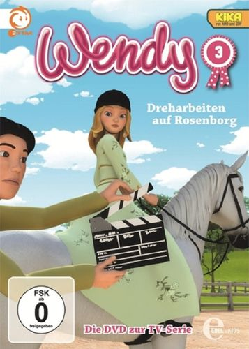 DVD Wendy 03  3 Dreharbeiten auf Rosenborg  TV-Serie 2 Folgen  OVP & NEU