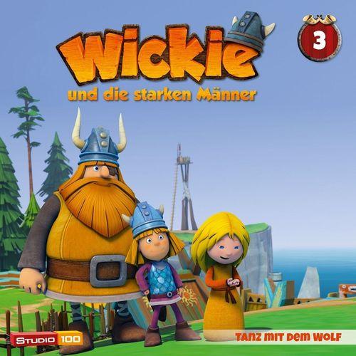 Wickie und die starken Männer Hörspiel CD 003 3 Tanz mit dem Wolf Folge 14-20 CGI TV-SerieNEU