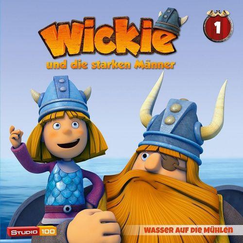 Wickie und die starken Männer Hörspiel CD 001 1 Wasser auf die Mühlen Folge 01-07 CGI TV-Serie NEU