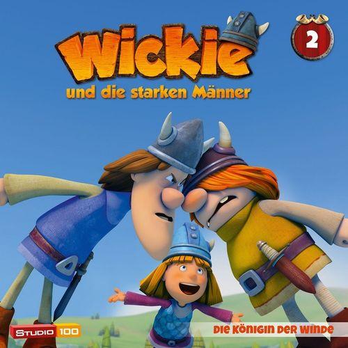 Wickie und die starken Männer Hörspiel CD 002 2 Die Königin der Winde Folge 08-13 CGI TV-Serie NEU