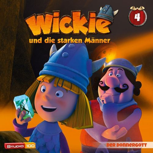 Wickie und die starken Männer Hörspiel CD 004 4 Der Donnergott Folge 21-26 CGI TV-Serie NEU