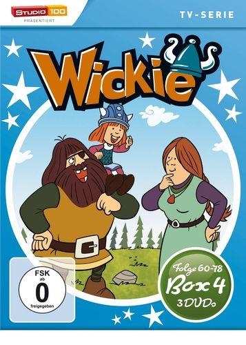 DVD Wickie und die starken Männer Staffel Box 4 TV-Serie Folgen 60-78 3x DVDs OVP & NEU