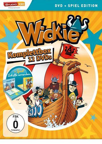 DVD Wickie und die starken Männer Staffel 1 2 3 4 komplett Box 12 DVDs Folge 1-78 OVP NEU