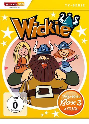 DVD Wickie und die starken Männer Staffel Box 3 TV-Serie Folgen 40-59 3x DVD OVP & NEU