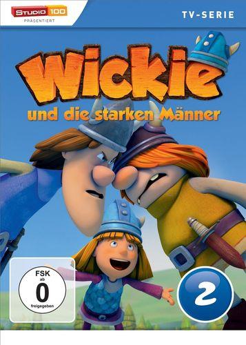 DVD Wickie und die starken Männer Box 2 Staffel 1.2 CGI TV-Serie Folgen 08-13 OVP & NEU