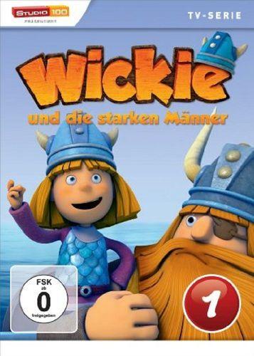 DVD Wickie und die starken Männer Box 1 Staffel 1.1 CGI TV-Serie Folgen 01-07 OVP & NEU