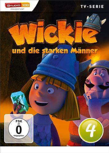 DVD Wickie und die starken Männer Box 4 Staffel 1.4 CGI TV-Serie Folgen 21-26 OVP & NEU
