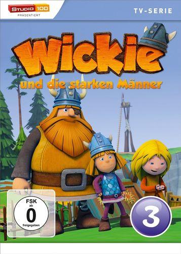 DVD Wickie und die starken Männer Box 3 Staffel 1.3 CGI TV-Serie Folgen 14-20 OVP & NEU