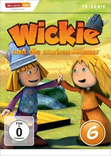 DVD Wickie und die starken Männer Box 6 Staffel 1.6 CGI TV-Serie Folgen 34-39 OVP & NEU