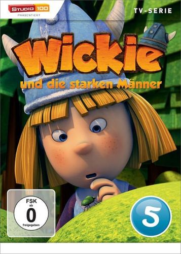 DVD Wickie und die starken Männer Box 5 Staffel 1.5 CGI TV-Serie Folgen 27-33 OVP & NEU