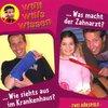 Willi Wills Wissen Hörspiel CD 008  8 Krankenhaus + Zahnarzt  2 Episoden Edel Kids NEU