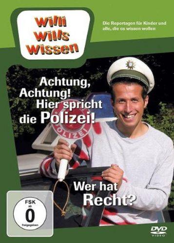 DVD Willi Wills Wissen - Achtung, Achtung! Hier spricht die Polizei! + Wer hat Recht  OVP NEU