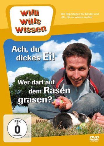 DVD Willi Wills Wissen - Ach, du dickes Ei + auf dem Rasen grasen OVP & NEU