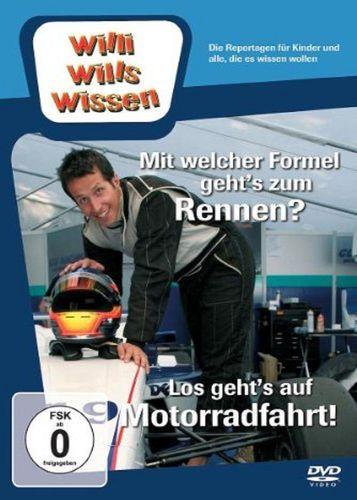 DVD Willi Wills Wissen - Mit welcher Formel geht's zum Rennen + Los geht's auf Motorradfahrt NEU