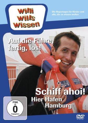 DVD Willi Wills Wissen - Auf die Fähre, fertig, los! + Schiff ahoi! Hier Hafen Hamburg  OVP & NEU