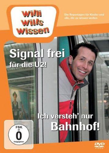 DVD Willi Wills Wissen - Signal frei für die U2! + Ich versteh' nur Bahnhof OVP NEU