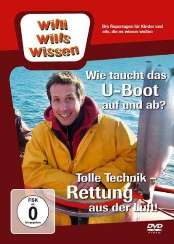 DVD Willi Wills Wissen - Rettung aus der Luft + Wie taucht das U-Boot auf und ab NEU