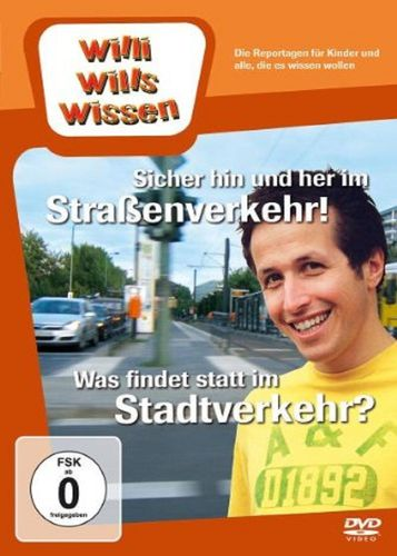 DVD Willi Wills Wissen - Sicher hin und her im Straßenverkehr + Was findet statt im Stadtverkehr NEU