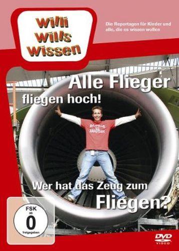 DVD Willi Wills Wissen - Alle Flieger fliegen hoch + Wer hat das Zeug zum Fliegen? NEU
