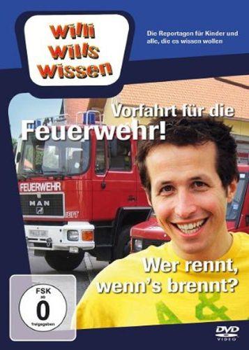 DVD Willi Wills Wissen - Vorfahrt für die Feuerwehr + Wer rennt, wenn's brennt OVP & NEU