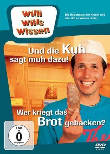DVD Willi Wills Wissen - und die Kuh sagt muh dazu + Wer kriegt das Brot gebacken? OVP & NEU
