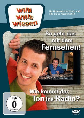 DVD Willi Wills Wissen - So geht das mit dem Fernsehen + Wie kommt der Ton ins Radio OVP & NEU