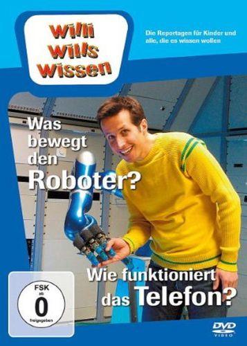 DVD Willi Wills Wissen - Was bewegt den Roboter? + Wie funktioniert das Telefon? OVP NEU