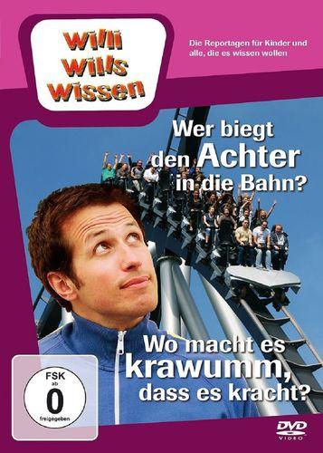 DVD Willi Wills Wissen - Wer biegt den Achter in die Bahn + Wo macht es krawumm, dass es kracht NEU