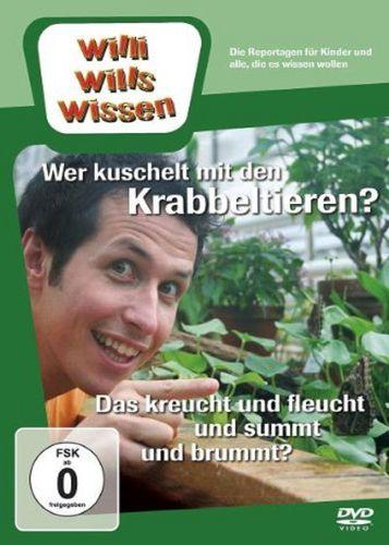 DVD Willi Wills Wissen - Wer kuschelt mit Krabbeltieren + Das kreucht & fleucht & summt & brummt NEU