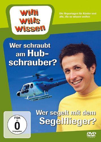 DVD Willi Wills Wissen - Wer schraubt am Hubschrauber + Wer segelt mit dem Segelflieger OVP & NEU