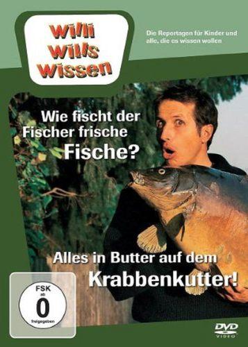 DVD Willi Wills Wissen - Wie fischt der Fischer frische Fische + Alles im Butter Krabbenkutter NEU
