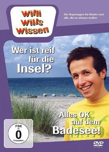 DVD Willi Wills Wissen - Wer ist reif für die Insel + Alles OK Badesee OVP & NEU