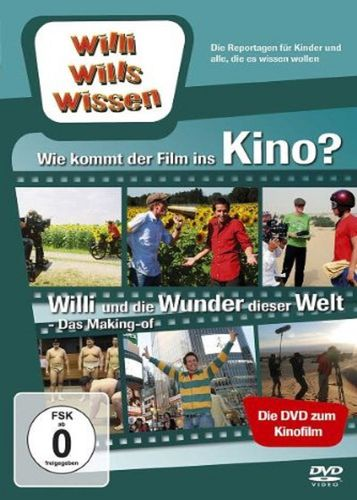DVD Willi Wills Wissen - Wie kommt der Film ins Kino + und die Wunder dieser Welt Das Making-of NEU