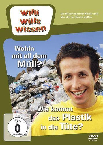 DVD Willi Wills Wissen - Wohin mit all dem Müll + Wie kommt das Plastik in die Tüte OVP & NEU
