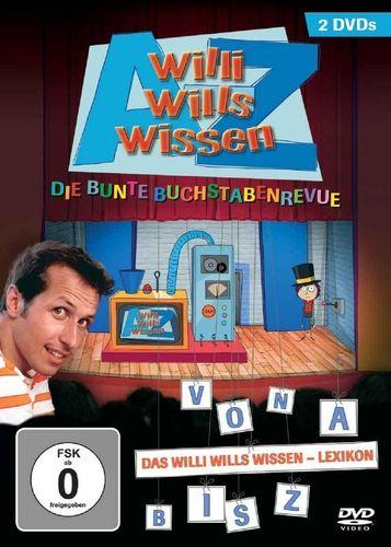 DVD Willi Wills Wissen - Von A bis Z - Das Lexikon mit 2 DVDs Die Bunte Buchstabenrevue NEU