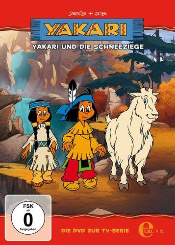 DVD Yakari 02  2 Yakari und die Schneeziege  TV-Serie 4 Folgen  OVP & NEU