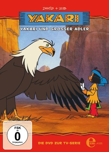 DVD Yakari 01  1 Yakari und Großer Adler  TV-Serie 4 Folgen  OVP & NEU