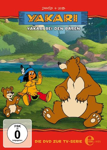 DVD Yakari 03  3 Yakari bei den Bären  TV-Serie 4 Folgen  OVP & NEU