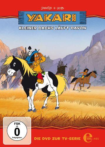 DVD Yakari 04  4 Kleiner Dachs läuft davon  TV-Serie 4 Folgen  OVP & NEU